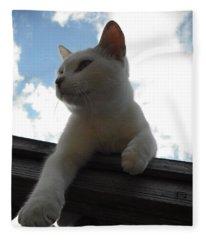 Goodbye Blue Sky Fleece Blanket