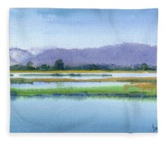 Goose Island Marsh Fleece Blanket