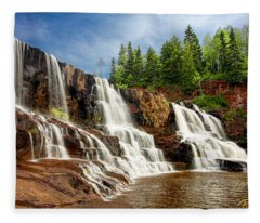 Gooseberry Falls Fleece Blanket