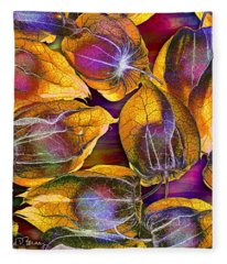 Goosed Berry Pods Fleece Blanket