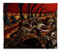 Gored-explored Fleece Blanket