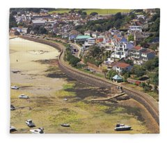Gorey Coast Road Fleece Blanket