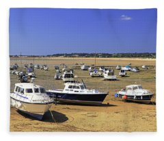 Gorey Harbour Fleece Blanket