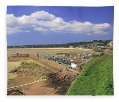 Gorey Pier  Fleece Blanket