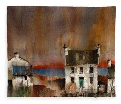 Gortnagaple, Inishmore, Aran, Galway Fleece Blanket