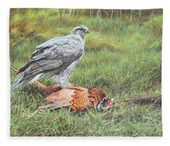 Goshawk Fleece Blanket