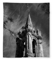 Gothic Style Fleece Blanket
