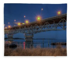 G.p. Coleman Bridge Fleece Blanket