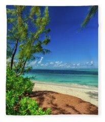 Grace Bay Fleece Blanket