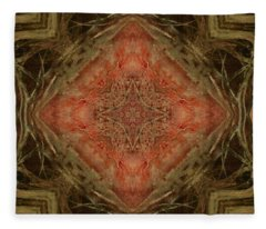 Grace Mandala Fleece Blanket