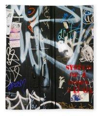 Graffiti  Fleece Blanket