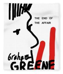 Graham Greene End Of Affair  Fleece Blanket