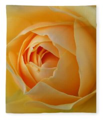 Fleece Blanket featuring the photograph Graham Thomas Old Fashioned Rose by Jocelyn Friis
