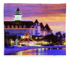 Grand Floridian Fleece Blanket