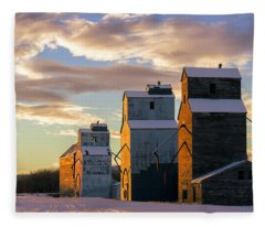 Granary Row Fleece Blanket