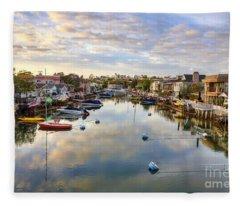 Grand Canal Fleece Blanket