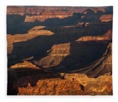 Grand Canyon Sunrise Fleece Blanket