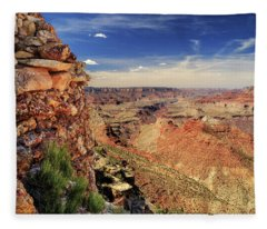 Grand Canyon Wall Fleece Blanket