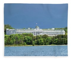 Grand Hotel Fleece Blanket