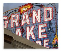Grand Lake Theatre . Oakland California . 7d13495 Fleece Blanket