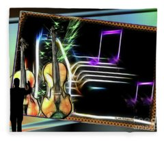 Grand Musicology Fleece Blanket