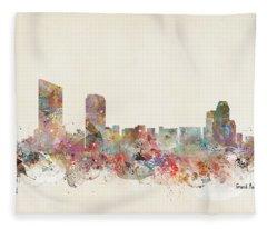 Grand Rapids City Fleece Blanket