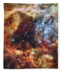 Grand Star Forming - A  Stellar Nursery Fleece Blanket