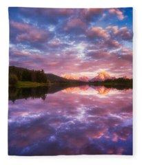 Grand Sunrise Fleece Blanket