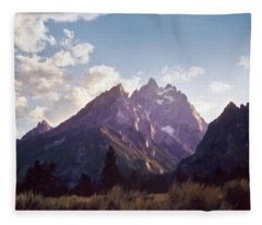 Grand Teton Fleece Blanket