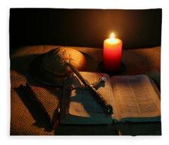 Grandfathers Bible Fleece Blanket