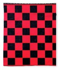 Grandpa's Checkerboard Fleece Blanket