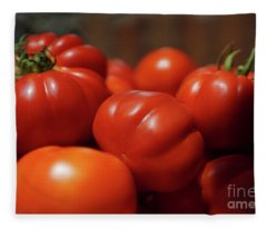 Grandpas Tomatoes Fleece Blanket