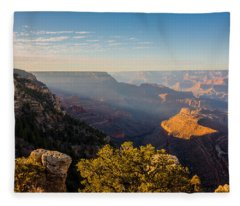 Grandview Sunset - Grand Canyon National Park - Arizona Fleece Blanket