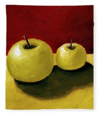 Granny Smith Apples Fleece Blanket