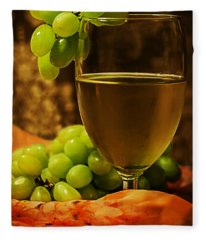 Grape Juice Fleece Blanket