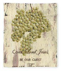Grapes And Grace 1 Fleece Blanket