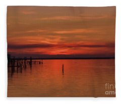 Grateful Sky Fleece Blanket
