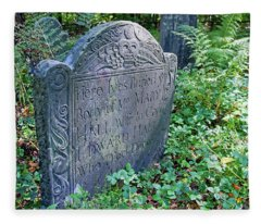 Grave Of Mary Hall Fleece Blanket