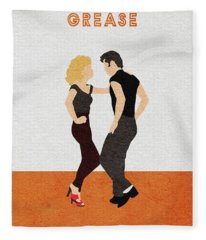 Grease Fleece Blanket