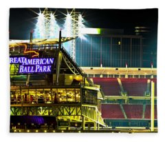 Great American Ballpark Fleece Blanket
