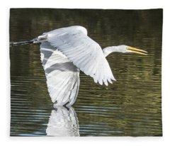 Great Egret 4781-112517-2cr Fleece Blanket