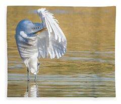 Great Egret 5257-112617-2cr Fleece Blanket