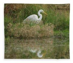 Great Egret 5755-112717-1cr Fleece Blanket