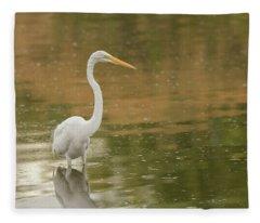 Great Egret 5788-112717-1 Fleece Blanket