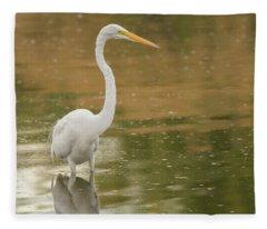 Great Egret 5788-112717-1cr Fleece Blanket