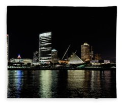 Great Place On A Great Lake Fleece Blanket