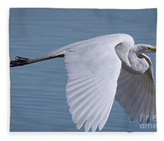 Great White Flight Fleece Blanket