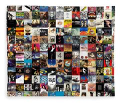 Greatest Album Covers Of All Time Fleece Blanket
