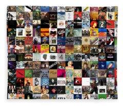 Greatest Rock Albums Of All Time Fleece Blanket