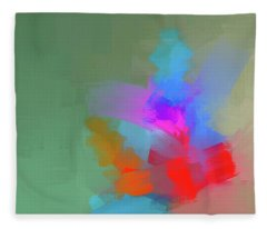 Green Day Fleece Blanket